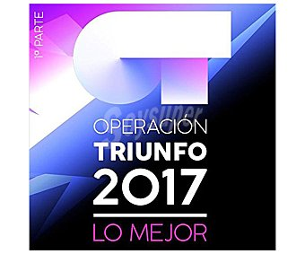 Universal Music Disco cd+dvd Operación Triunfo: Lo mejor del 2017 parte 1.Género: pop rock nacional e internacional. Lanzamiento: Diciembre de 2017