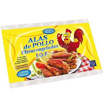 ABADAN Alas de pollo ultracongeladas Bolsa 900 g