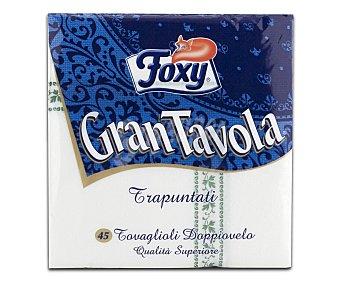 Foxy Servilletas Trapuntatta Paquete 45 unid