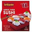 Arroz para sushi Envase 400 g Brillante