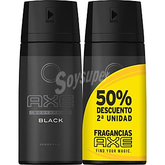 AXE Desodorante Black  2 spray de 150 ml