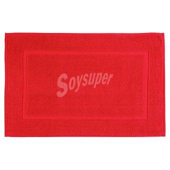 CASACTUAL Rubi alfombra de baño rizo americano color rojo