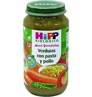 HiPP Biológico Potito de Verduras con Pasta y Pollo Bio 250 GRS