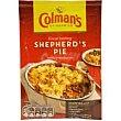 Shepher`s pie Sobre 50 g Colmans