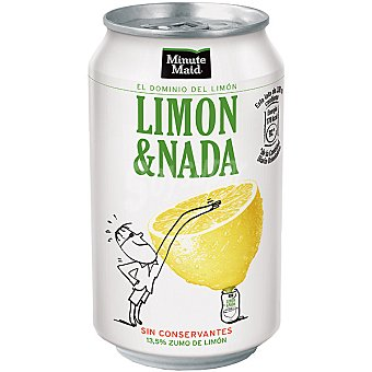 Minute Maid Limón & Nada Lata 33 cl