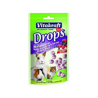 Drops Frutos del Bosque para Roedores 75 gr