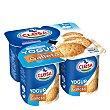 Yogur sabor galleta sin gluten Pack 4x125 g CLESA