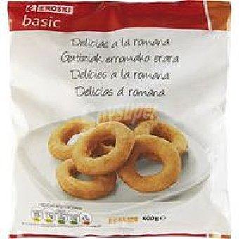 Eroski Basic Delicias a la romana Bolsa 400 g