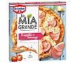 Pizza de jamón y queso La Mia Grande Dr. Oetker 400 g La Mia
