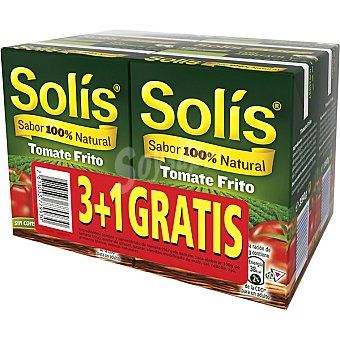 Solís Tomate frito Pack 3 envases 350 g