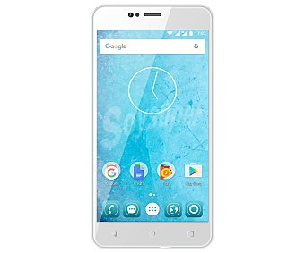 "Qilive Smartphone libre 13.97cm (5,5"") Q8 blanco, Quad-Core, 16GB, microsd, 13Mpx, Dual-Sim, Android 7 blanco, Quad-Core, 16GB, microsd, 13Mpx, Dual-Sim, Android 7"