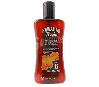 Hawaiian Aceite solar protective spf 6 tro 200 ml