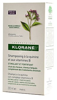 Klorane Champú de quinina+vitamina B Bote 200 ml