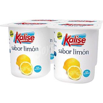 Kalise Yogur sabor limón pack 4 unds. 125 g Pack 4 unds. 125 g