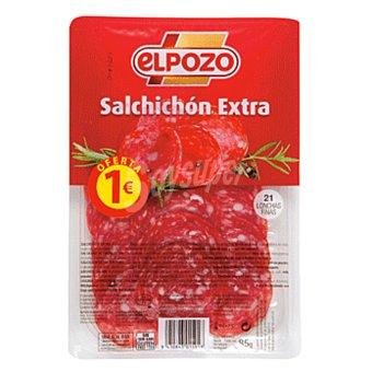 ElPozo Salchichón extra lonchas Sobre 85 g