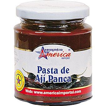 AMERICA IMPORT Pasta de ají panca Frasco 205 g