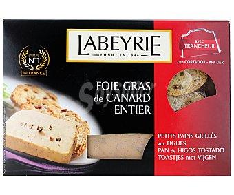 Labeyrie Foie Gras pato entero más pan de higos 120 Gramos + 50 Gramos