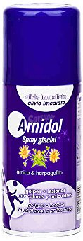 Arnidol Spray glacial para el alivio inmediato en lesiones musculares y articulares, 150 Mililitros