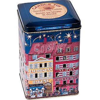 COPENHAGEN Candle Tin Galletas con trocitos de chocolate Lata 150 g