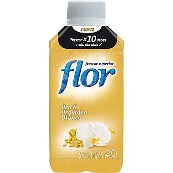 Flor Suavizante concentrado Oro & Orquídea Blanca Botella 20 dosis