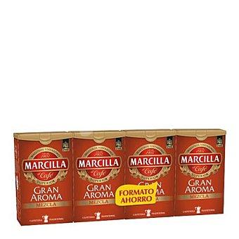 Marcilla Café molido mezcla Pack de 4x250 g