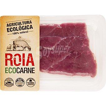 ROIA Ternera Ecológica Roia cadera 1ª A en filetes peso aproximado Bandeja 350 g