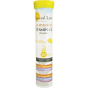 Special Line vitamina C efervescente sabor limón  envase 20 unidades