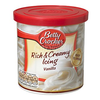 Betty Crocker Cobertura para postres de vainilla 450 g