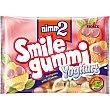 Caramelos de goma con zumo de frutas y vitaminas sabor yogur Bolsa 100 g NIMM2 smile gummi