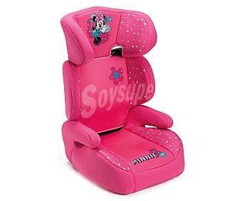 Minnie Elevador bebé para grupo 2-3, con cabezal y apoya brazos, color rosa 2-3