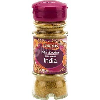Ducros Sazonadores del mundo India ideal para carnes blancas y verduras Tarro 50 g