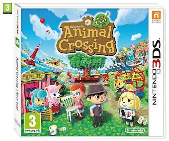 SIMULACIÓN Videojuego Animal Crossing: New Leaf para Nintendo 3DS, 3DSXL. Género: Simulación. Recomendación por edad pegi: +3 - 1 Unidad 1u