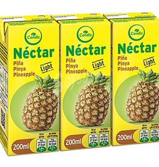 Condis Néctar piña light sin azúcar  3 unidades