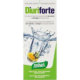 Santiveri Diuriforte jarabe drenante favorece el drenaje de los líquidos corporales sin alcohol frasco 240 g