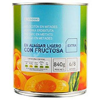 Eroski Melocotón sin azúcar Lata 480 g escurrido