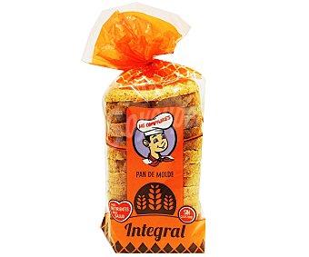 Los Compadres pan de molde integral 315 gr