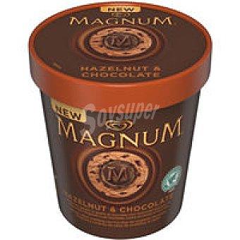 MAGNUM de FRIGO Tarrina de avellana y chocolate helada 450 ML