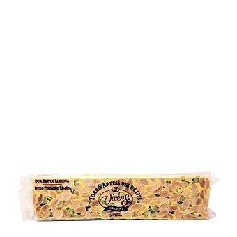 Vicens Turrón duro con almendras, pistachos y limón 300 g