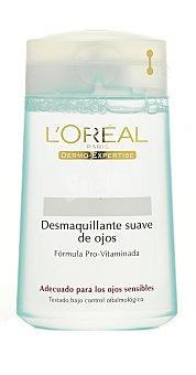 L'Oréal Loción desmaquillante ojos suave 125 Mililitros