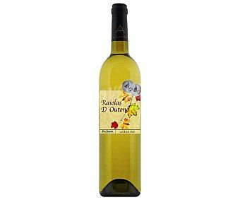 RAIOLAS D´OUTONO Vino Blanco Albariño Raiolas 75 Centilitros