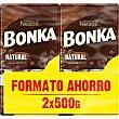 Café natural molido 2x500 paquete 1000 g Bonka Nestlé