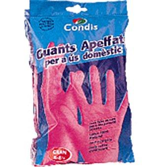Condis Guant.goma flocados gran 1 UNI