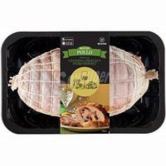 Roti de pollo relleno de castañas-ciruelas 700 g