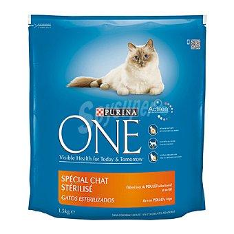 One Purina Comida para gatos con Pollo 1,5 kg