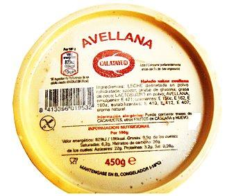 Calatayud Helado de avellana Tarrina 1 litro