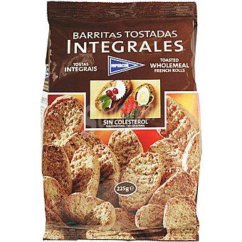Hipercor Barritas de pan tostadas integrales Bolsa 225 g