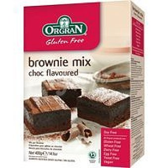 Orgran Bownie mix de chocolate Caja 400 g