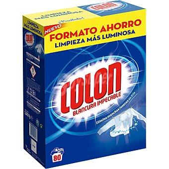 Colón Detergente máquina polvo Maleta 80 cacitos