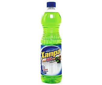 Xanpa Ajax Friega suelos con aroma a pino Botella 1 l