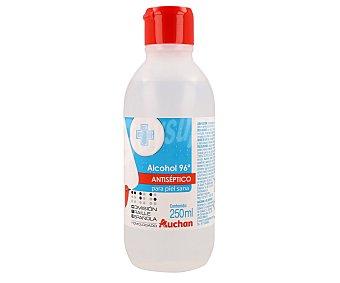 Auchan Alcohol 96º antiséptico, 250 mililitros 250ml